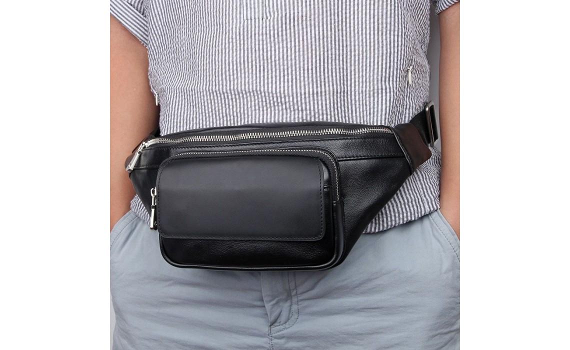 Как правильно носить сумки на пояс
