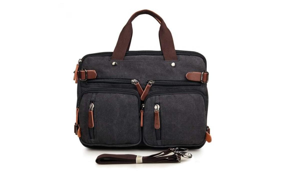 Мужские сумки из кожи и ткани. Новый тренд