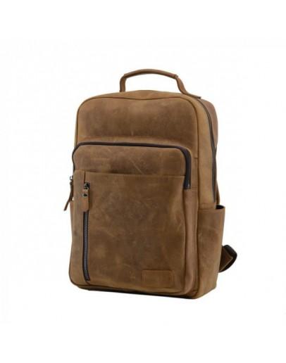 Фотография Кожаный винтажный мужской рюкзак t0017