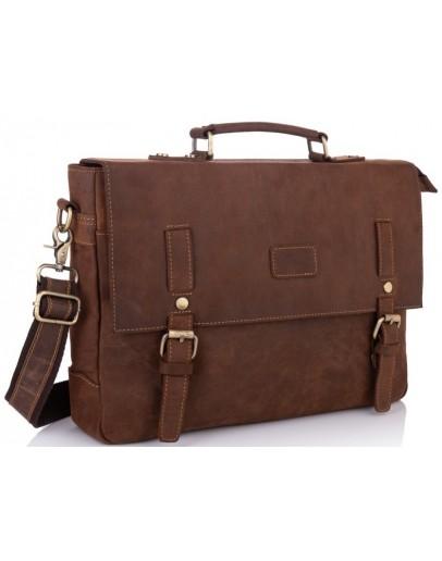 Фотография Сумка-портфель коричневого цвета Tiding Bag t0020