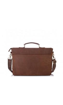 Сумка-портфель коричневого цвета Tiding Bag t0020
