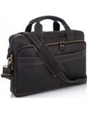 Фотография Мужская деловая сумка для ноута и документов t0033A