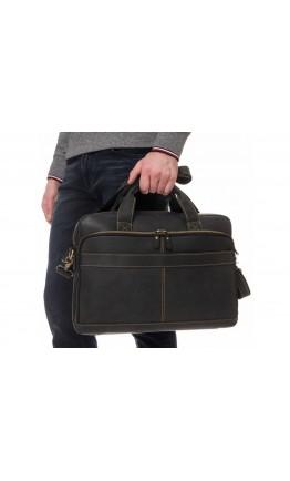 Мужская деловая сумка для ноута и документов t0033A