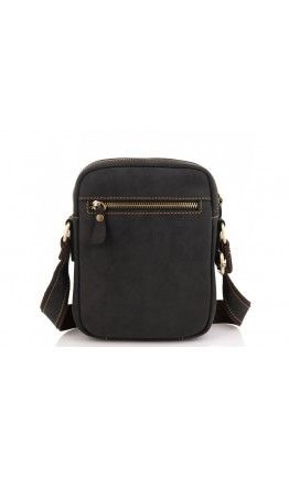 Мужская небольшая кожаная сумка на плечо Tiding Bag t0036A