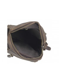 Коричневая мужская винтажная сумка Tiding Bag t2102