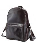 Фотография Удобный городской коричневый мужской рюкзак t3158