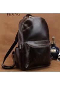 Удобный городской коричневый мужской рюкзак t3158