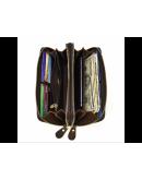 Фотография Мужской винтажный клатч на 2 отделения TIDING BAG T4009R