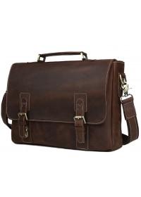 Мужской кожаный портфель, прочная кожа t8069DB