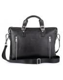 Фотография Черная сумка деловая кожаная Tarwa TA-0043-4lx