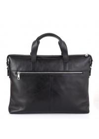 Черная сумка деловая кожаная Tarwa TA-0043-4lx