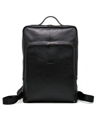 Фотография Большой мужской кожаный рюкзак для 17 диагонали ноутбука TARWA TA-1241-4lx