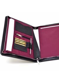 Кожаная папка для документов А4 с органайзерами TARWA TA-1294-4lx