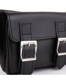 Фотография Черная кожаная сумка на пояс Tarwa TA-3029-4lx