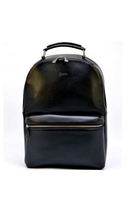 Кожаный мужской черный рюкзак Tarwa TA-4445-4lx