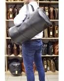 Фотография Дорожная черная мужская сумка - бочка TARWA TA-5564-4lx