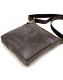 Фотография Мужская сумка на плечо коричневая Tarwa TC-1300-3md