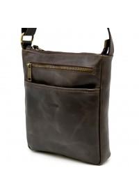 Мужская сумка на плечо коричневая Tarwa TC-1300-3md