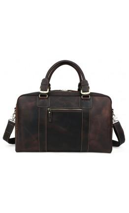 Мужская коричневая винтажная сумка для командировок tid1024R