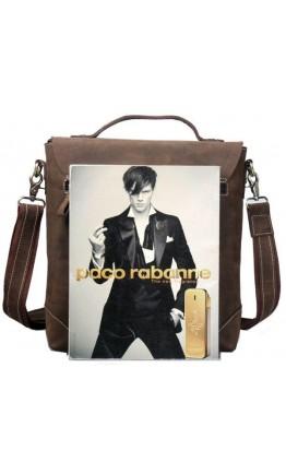 Мужская вместительная кожаная деловая сумка tid30036