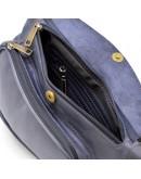 Фотография Синяя винтажаная мужская сумка - слинг Tarwa TK-3026-3md