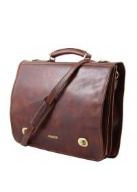 Оригинальный кожаный мужской портфель Tuscany Leather SIENA TL10054