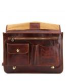 Фотография Оригинальный кожаный мужской портфель Tuscany Leather SIENA TL10054