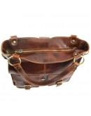 Фотография Темно-коричневая женская вместительная сумка Tuscany Leather MELISSA TL140928