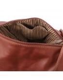 Фотография Кожаный женский рюкзак Tuscany Leather Delhi TL140962