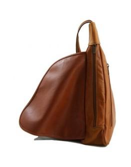 Женский черный рюкзак на одно плечо Tuscany Leather Hanoi TL140966