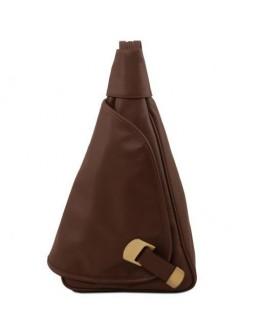 Коричневый женский фирменный рюкзак Tuscany Leather Hanoi TL140966 brown