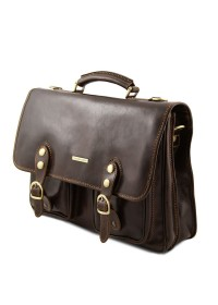 Оригинальный мужской кожаный портфель Tuscany Leather TL141134