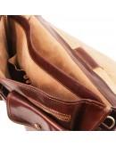 Фотография Коричневый мужской оригинальный портфель Tuscany Leather TL141134 brown