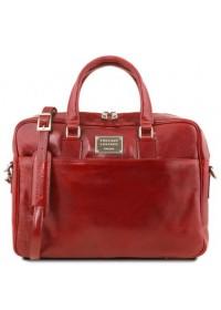 Мужская сумка портфель красного цвета Tuscany Leather TL141241 red