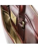 Фотография Черная кожаная сумка портфель Tuscany Leather TL141241-2