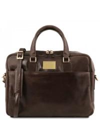 Темно-коричневая сумка портфель Tuscany Leather TL141241