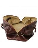 Фотография Кожаная дорожная сумка - даффл Tuscany Leather Voyager TL141247