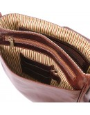 Фотография Вместительный кожаный мужской мессенджер Tuscany Leather TL141260