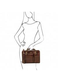 Женская деловая кожаная сумка Tuscany Leather Tania TL141269