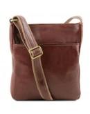 Фотография Мужская сумка на плечо коричневого Tuscany Leather TL141300 brown