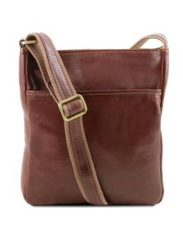 Мужская сумка на плечо коричневого Tuscany Leather TL141300 brown