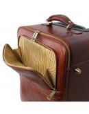 Фотография Дорожная черная сумка на колесах TL VOYAGER Tuscany Leather TL141390