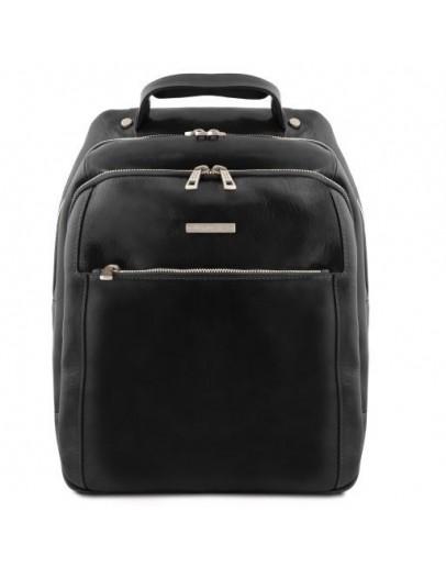 Фотография Черный кожаный мужской рюкзак Tuscany leather PHUKET TL141402