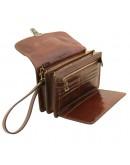 Фотография Мужская кожаная барсетка - клатч Tuscany Leather TL141444