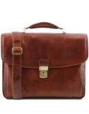 Фотография Кожаный мужской портфель Tuscany Leather TL141448