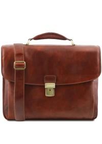 Кожаный мужской портфель Tuscany Leather TL141448