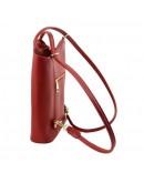 Фотография Женская кожаная красная сумка Tuscany Leather Party TL141455