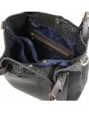 Фотография Черная женская кожаная сумка Tuscany Leather TL Bag TL141573 TL KeyLuck black