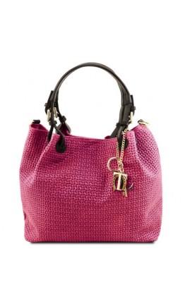 Фирменная женская сумка - шоппер Tuscany Leather TL141573 TL KeyLuck fucs