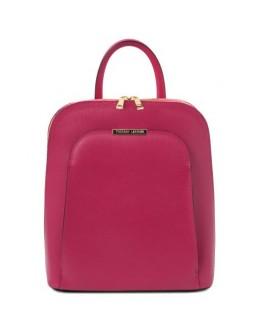 Пурпурный рюкзак из сафьяновой кожи Tuscany Leather Olimpia TL141631 fuks